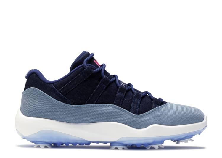 Air Jordan 11 Golf 'No Denim Allowed'