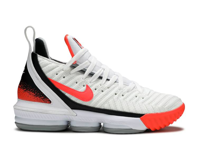LeBron 16 'Air Tech Challenge Hot Lava White'