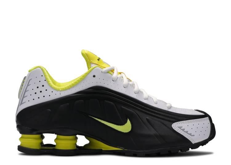 Absorber horizonte Diez años  Shox R4 'Black Dynamic Yellow - Nike - 104265 048 - black/dynamic yellow-white  | Flight Club