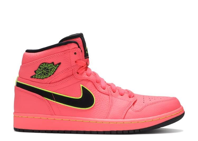 Wmns Air Jordan 1 High Premium 'Hot Punch'