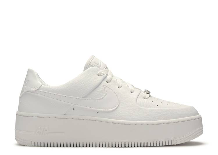 "w af1 sage low ""Triple White"""