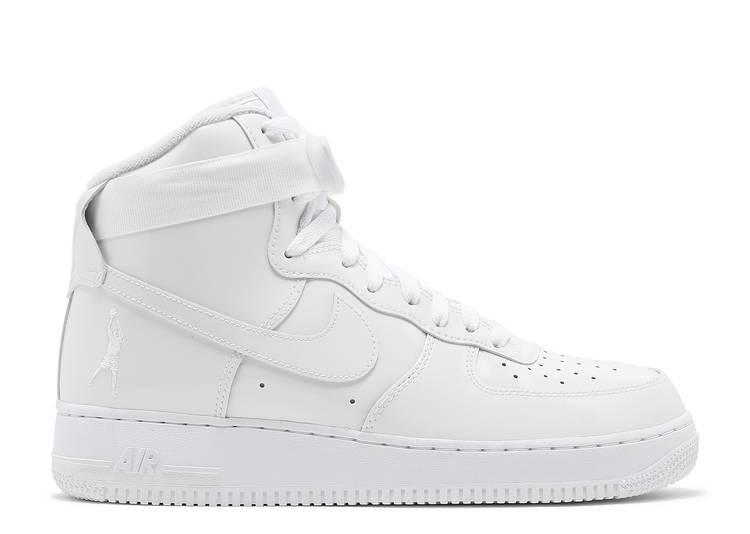 Air Force 1 High Qs Sheed Triple White Nike 743546 107
