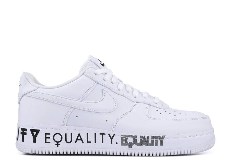 conoscenza altoparlante Crollo  Air Force 1 Low CMFT 'Equality' - Nike - AQ2118 100 - white/white-black |  Flight Club