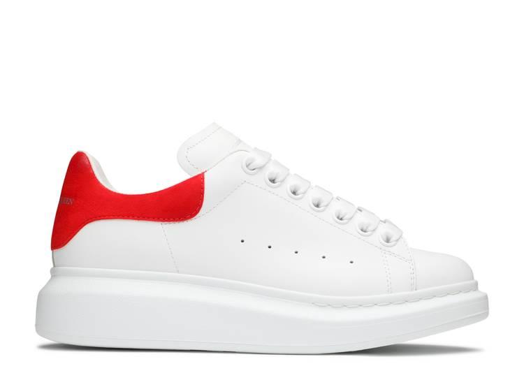 Alexander McQueen Wmns Oversized Sneaker 'Lush Red'