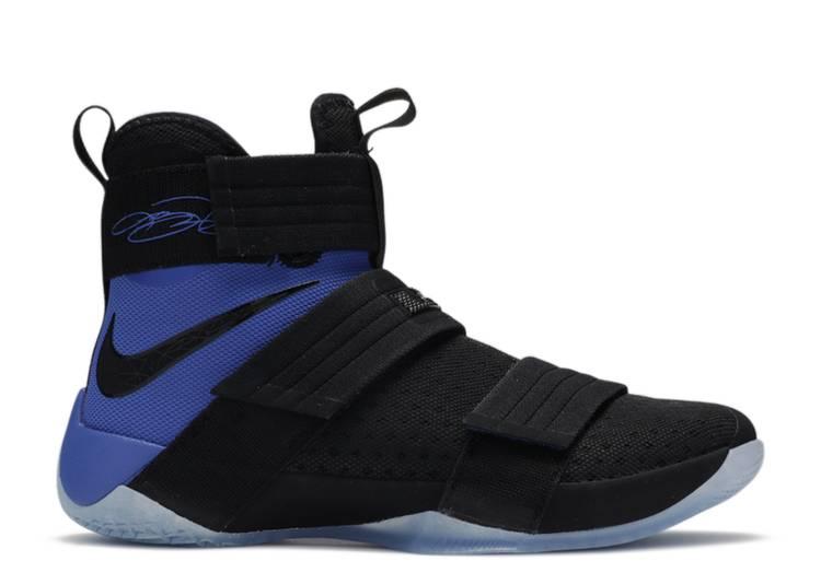 LeBron Soldier 10 SFG 'Black Blue'
