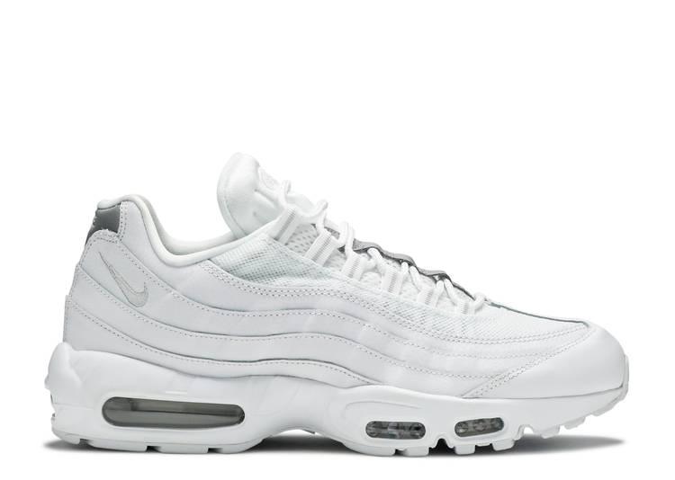 """Air Max 95 Essential """"White Silver"""""""