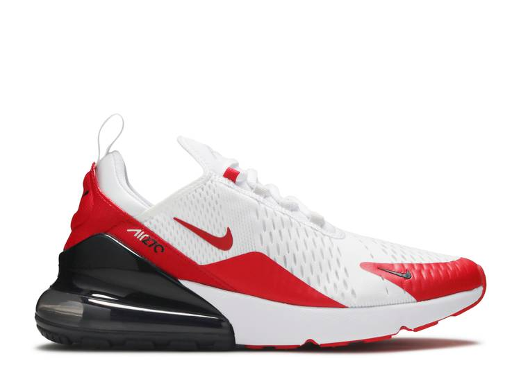 Air Max 270 'White University Red'