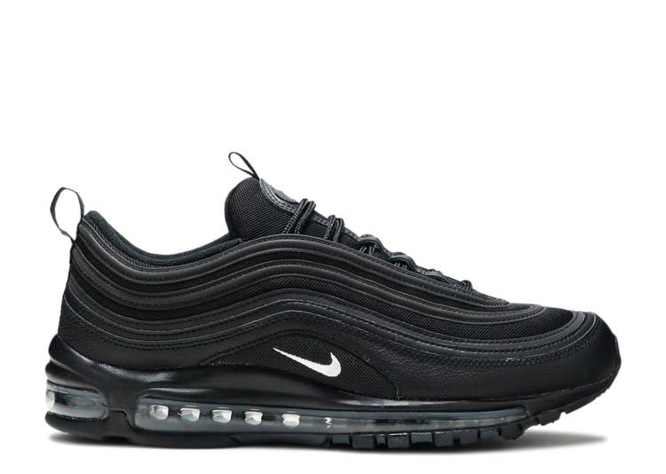 Air Max 97 Black Terry Cloth Nike 921826 015 Black White