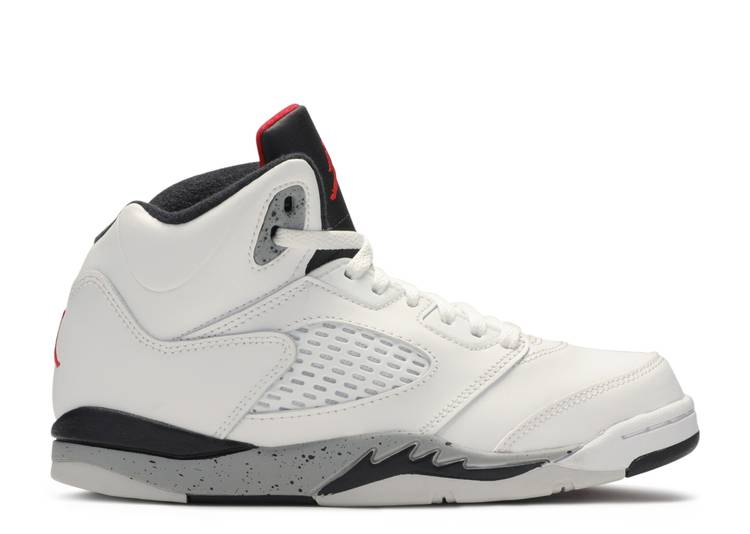 Air Jordan 5 Retro PS 'White Cement'