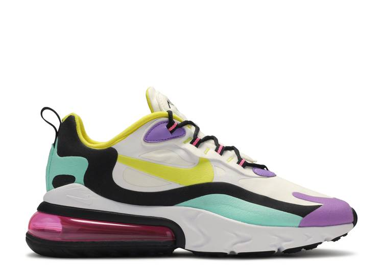 """Air Max 270 React 'Bright Violet' """"Geometric Abstract"""""""