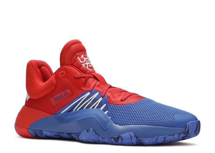 pendenza poscritto Robusto  Marvel X D.O.N. Issue 1 'Amazing Spider Man' - Adidas - EF2400 -  red/blue/footwear white | Flight Club