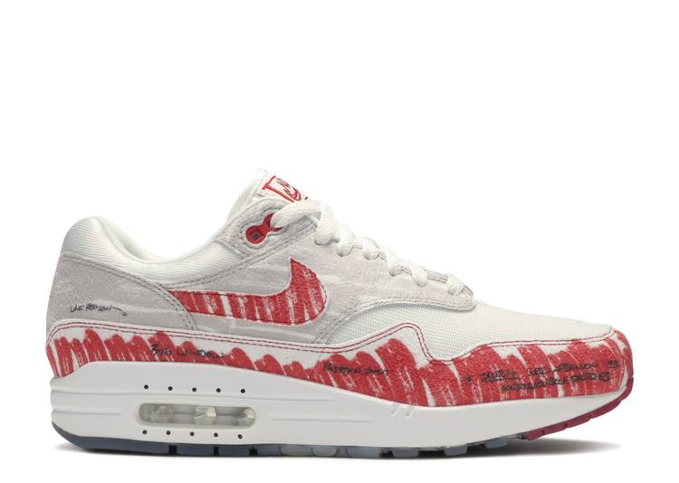 Air Max 1 'Sketch To Shelf - University Red'