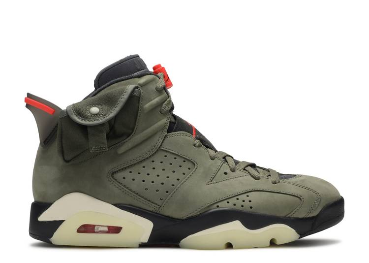 Travis Scott x Air Jordan 6 Retro 'Olive'