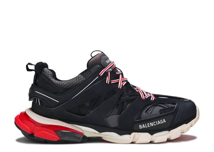 Balenciaga Track Trainer 'Black Red'