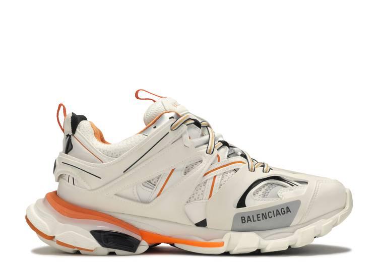 Balenciaga Track Trainer White Orange Balenciaga 542023 W1gb1 9059 White Orange Flight Club