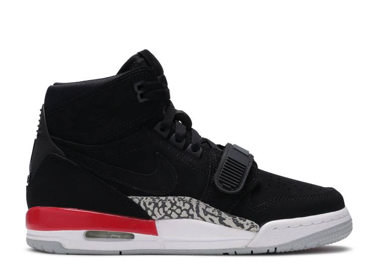 Jordan Legacy 312 GS 'Black Fire Red'
