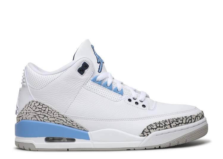 """Air Jordan 3 Retro """"UNC"""""""