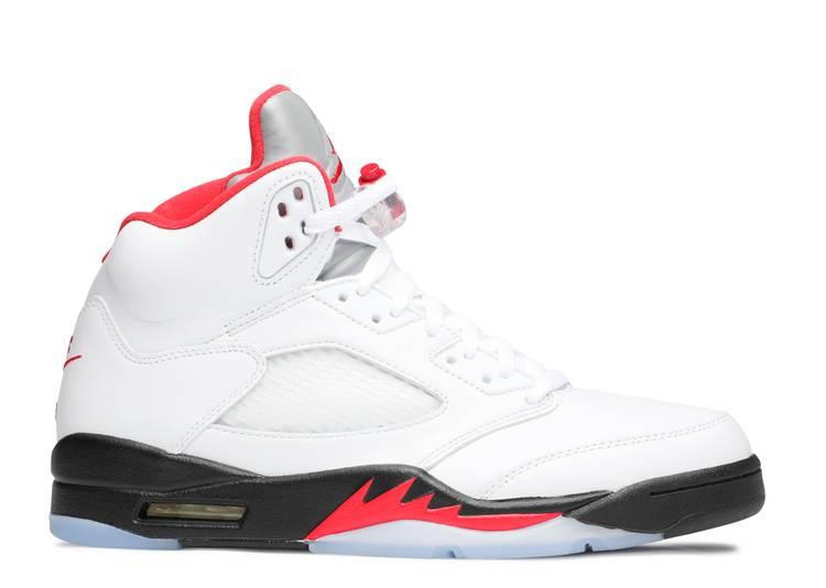 "Air Jordan 5 Retro 'Fire Red' 2020 ""Fire Red"""
