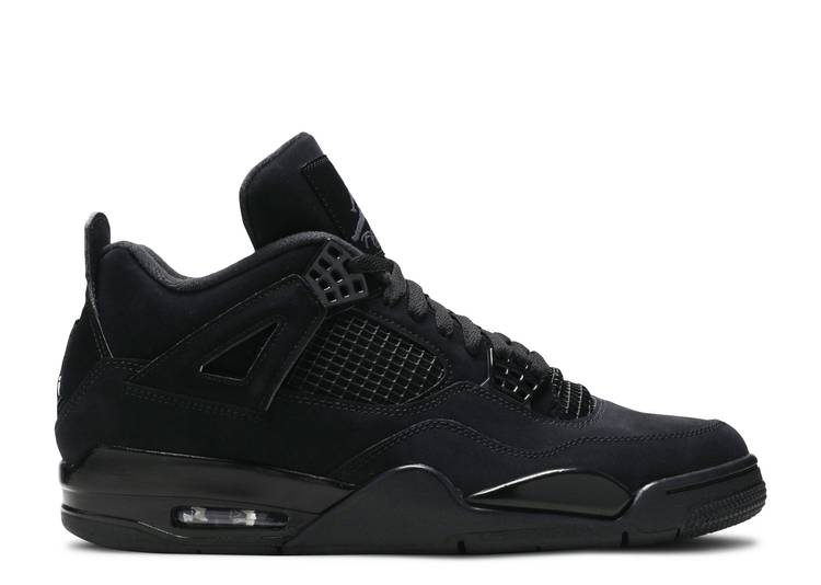 "air jordan 4 retro ""black cat 2020 release"""