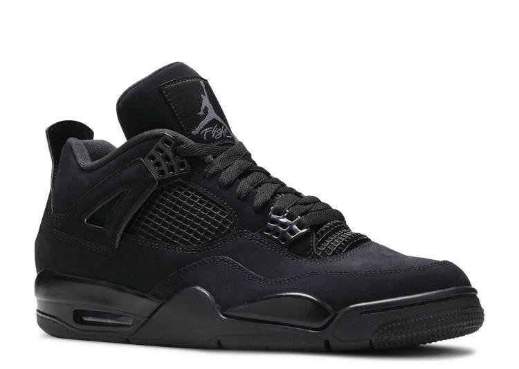 Air Jordan 4 Retro 'Black Cat' 2020