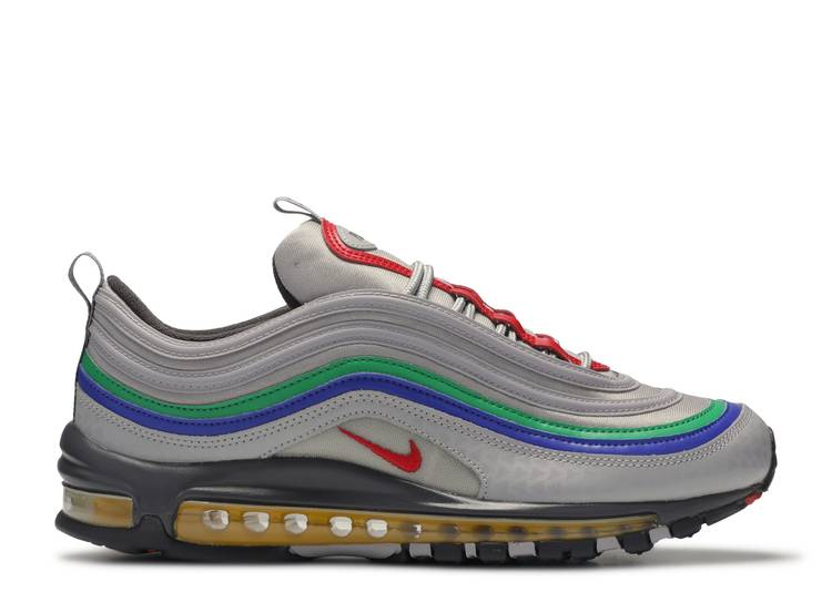 Untado Muslo teoría  Air Max 97 'Nintendo 64' - Nike - CI5012 001 - atmosphere grey/ university  red | Flight Club