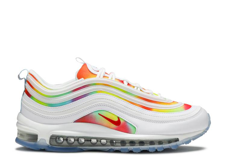 Generosidad Rugido Dibuja una imagen  Air Max 97 'Tie Dye Chicago' - Nike - CK0839 100 | Flight Club