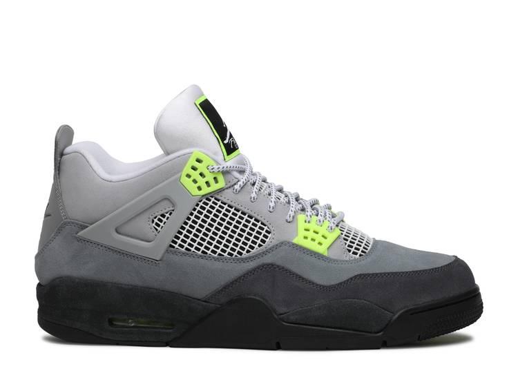 "Air Jordan 4 Retro LE ""Neon 95"""