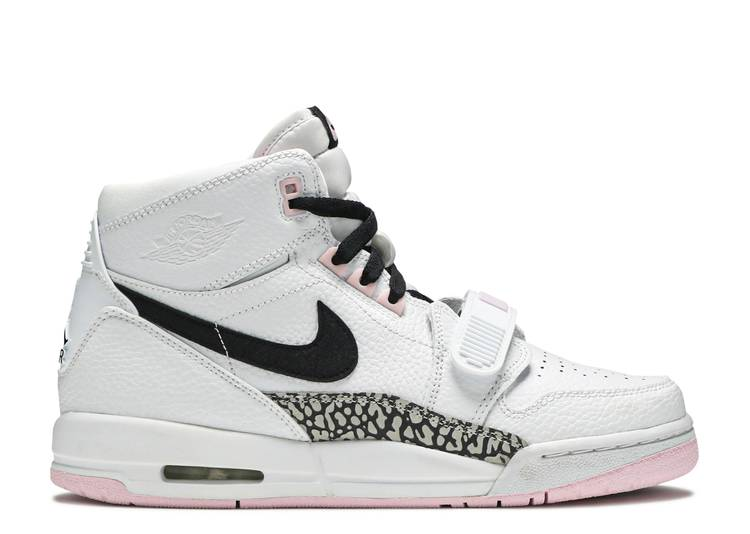 "Jordan Legacy 312 GS 'White Black Pink Foam' ""White Black Pink Foam"""