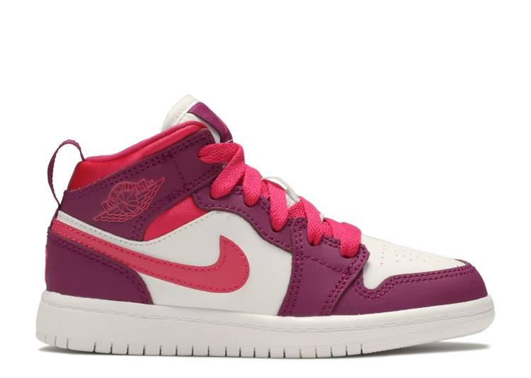 Air Jordan 1 Mid PS 'True Berry Rush Pink'