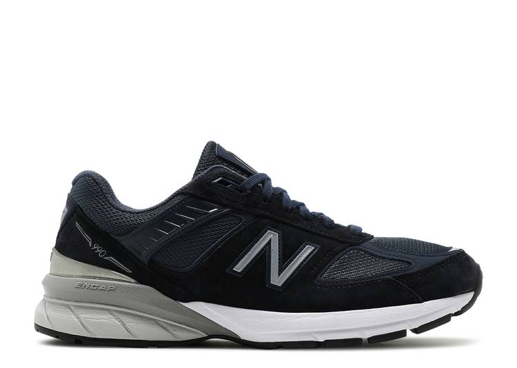 Wmns 990 Wide 'Navy Silver'