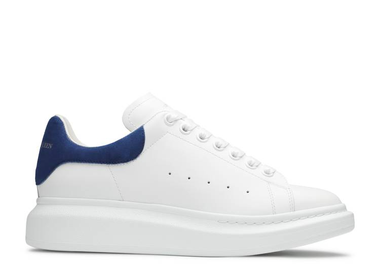 Alexander McQueen Oversized Sneaker 'White Paris Blue'
