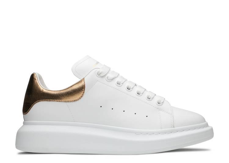 Alexander McQueen Oversized Sneaker 'White Gold'