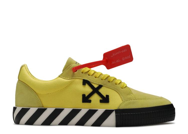"OFF-WHITE Vulc Low ""Yellow"""