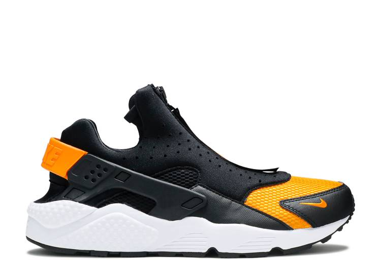 Air Huarache Run EXT Zip 'Black Orange Peel'