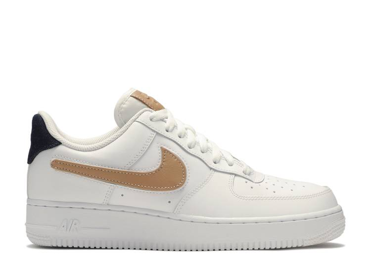 """Air Force 1 Low """"Removable Swoosh - White Vachetta"""""""