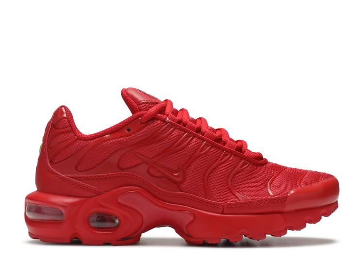 Air Max Plus Gs Triple Red Nike Cq9748 600 University Red