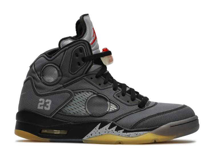 OFF-WHITE x Air Jordan 5 Retro SP 'Muslin'