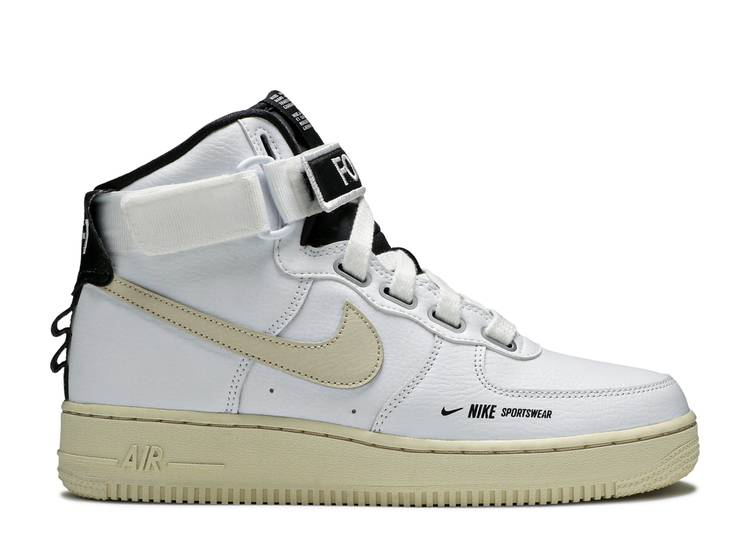 Wmns Air Force 1 High Utility 'White'