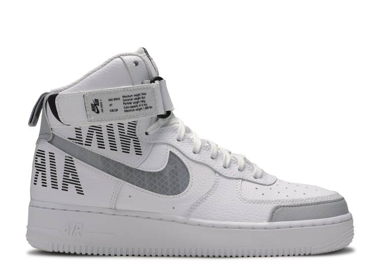 Air Force 1 High 'Under Construction - White'
