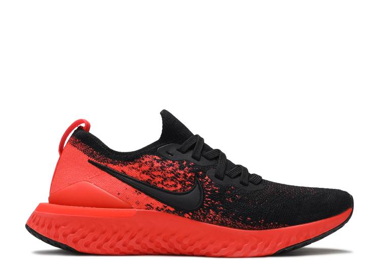 "Epic React Flyknit 2 ""Black Infrared"""