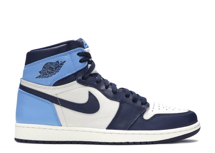 air jordan 1 retro high og 'Obsidian, UNC'