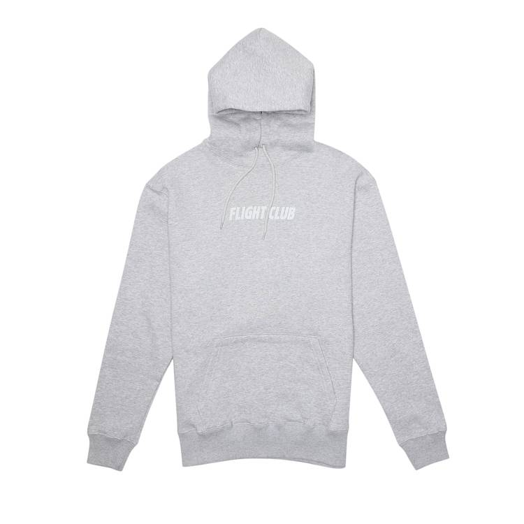 Flight Club Tonal Logo Hoodie Grey 'Grey'