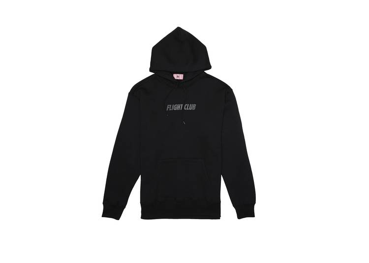 Flight Club Tonal Logo Hoodie Black 'Black'