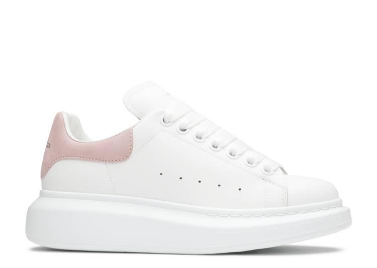 Alexander McQueen Wmns Oversized Sneaker 'White Patchouli' 2019