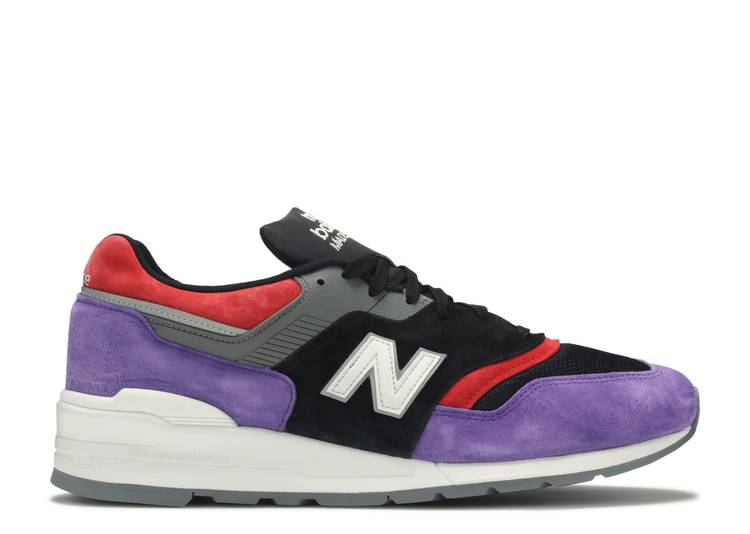 Rápido cuota de matrícula Línea del sitio  997 'Kawhi Championship Pack' - New Balance - US997MK - purple/black/red |  Flight Club