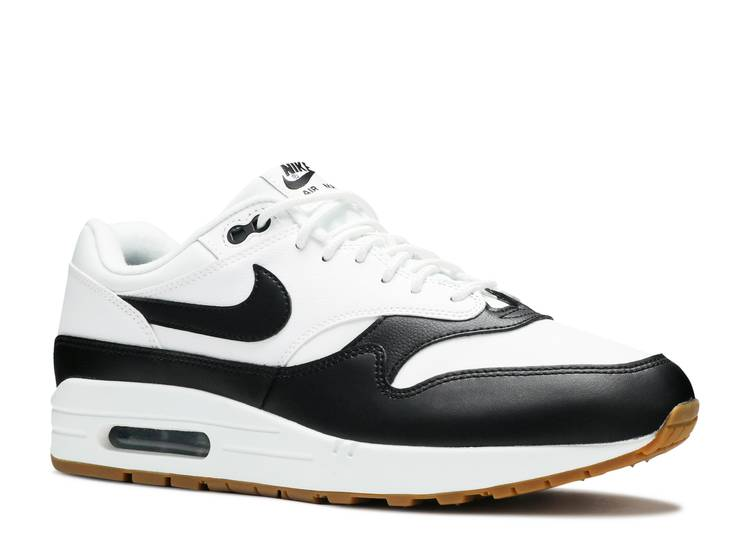 air max 1 black and white gum