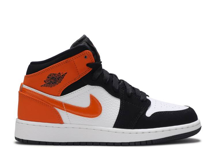"air jordan 1 mid (gs) ""shattered backboard"""