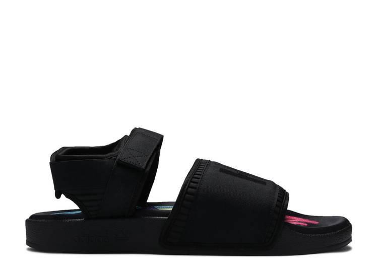 Pharrell x Adilette 2.0 Sandal 'Core Black'
