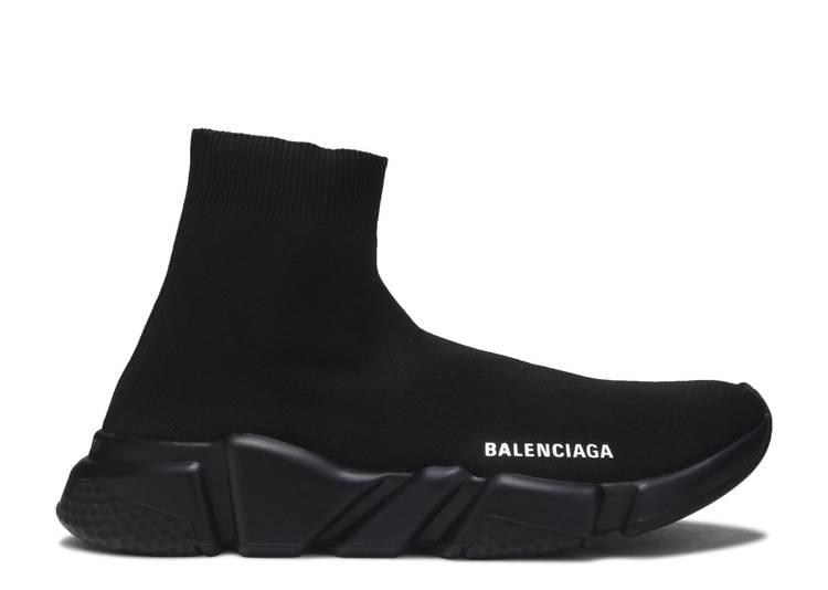 Balenciaga Wmns Speed Trainer High 'Black' 2019