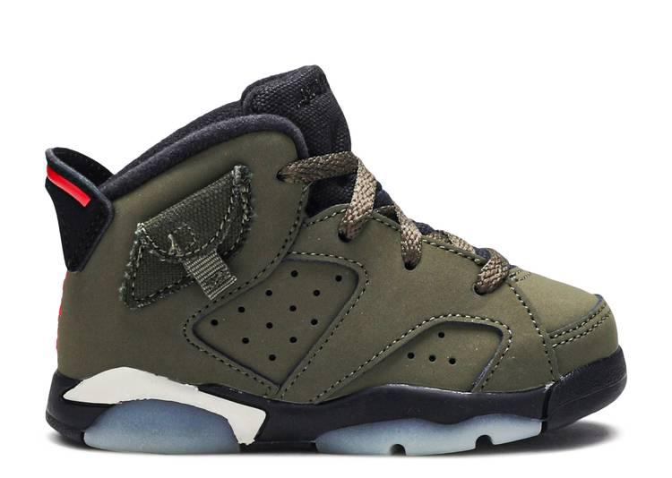 Travis Scott x Air Jordan 6 Retro TD 'Olive'